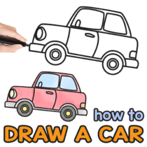 How to Draw a Car – Step by Step Drawing Tutorial