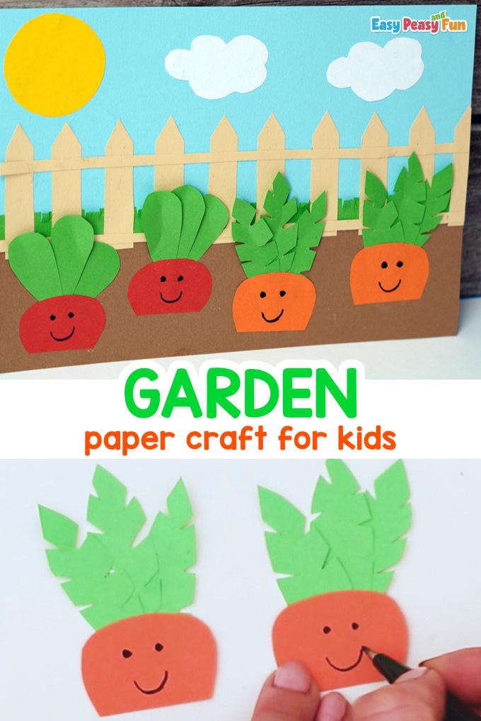 Paper Garden Craft for Kids
