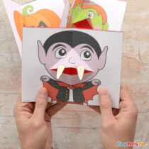 Halloween Pop Up Card Templates