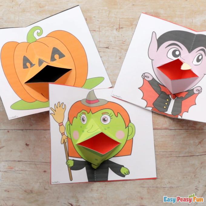 Pop Up Halloween Cards