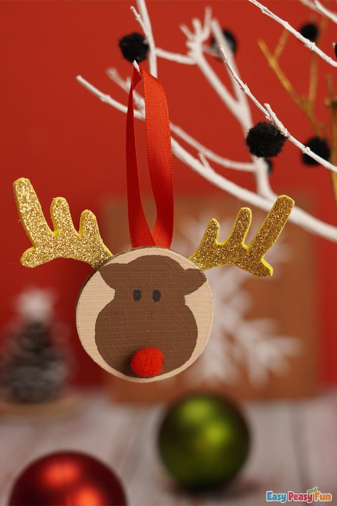 Reindeer Xmas Ornament
