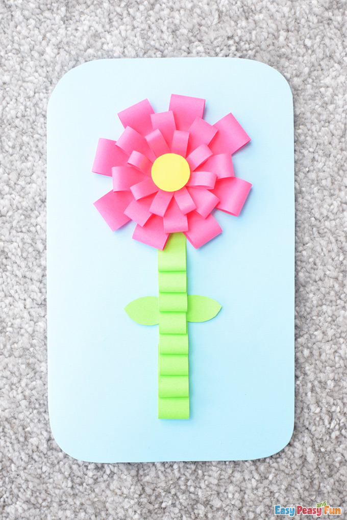 Spring Flower Mothers Day Craft