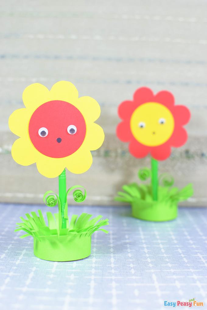 DIY Flower in a Pot Paper Craft