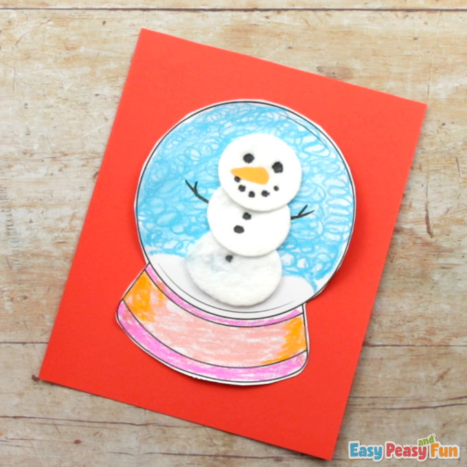 Design a Snow Globe Template 1