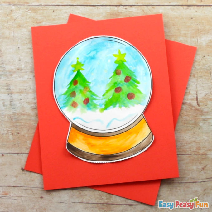 Design a Snow Globe Template 2
