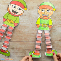 Printable Elf Christmas Craft