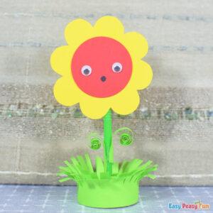 Spring Paper Flower Craft
