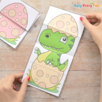 Surprise Dinosaurs Egg Cards