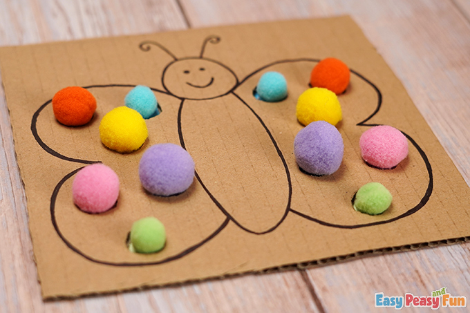 DIY Butterfly Color Matching Activity