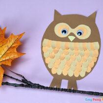 Paper Owl Craft
