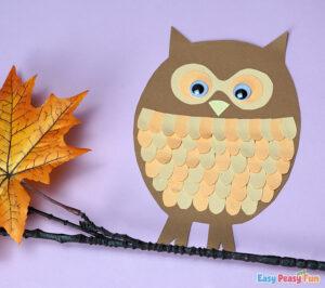 Fall Paper Owl