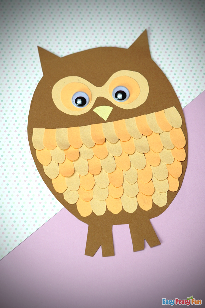 Fall Paper Owl Craft