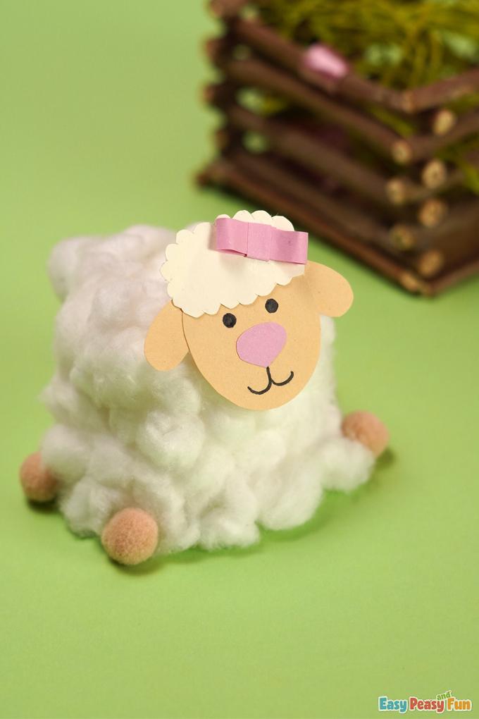 Easter Sheep Craft