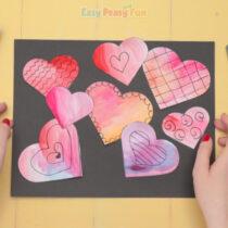Simple Valentines Day Art