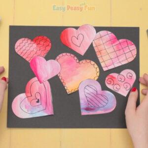 Heart Valentines Day Art