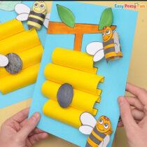 Beehive Paper Craft