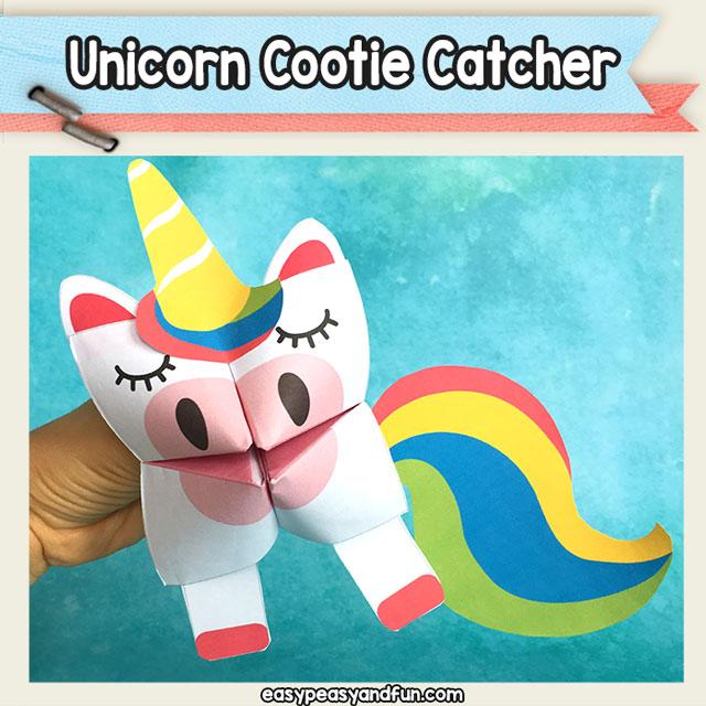 Unicorn-Cootie-Catcher