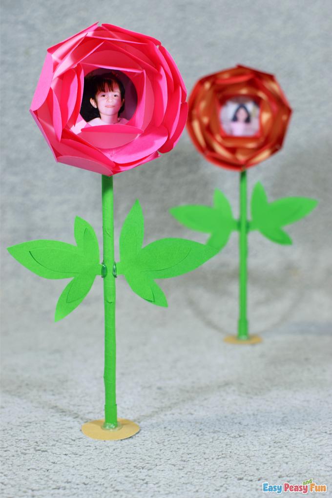 DIY Mothers Day Flower Craft