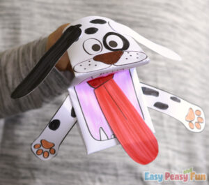 Dog Printable Puppet