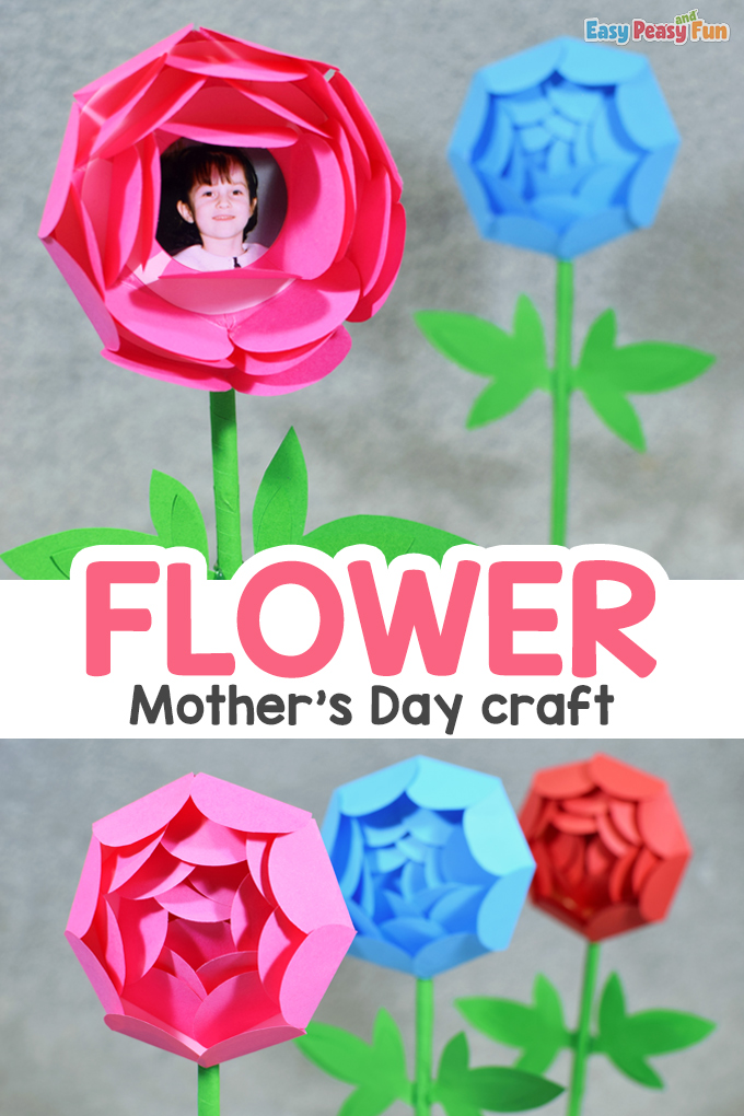 Mothers Day Paper Flower