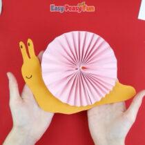 Paper Rosette Snail Craft