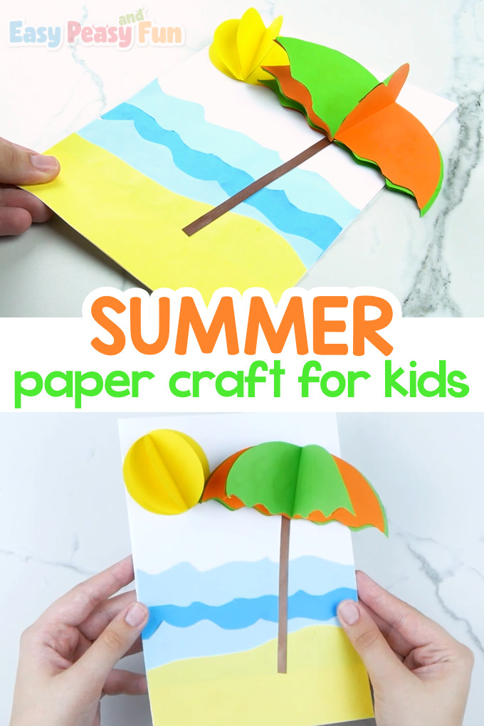 Summer Paper Craft for Kids