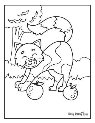Outdoor Fun Coloring Page
