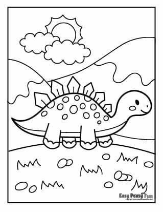 Dino on Sunny Day