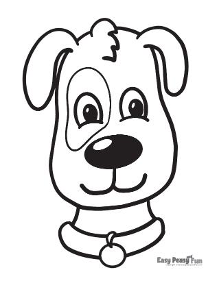Dog Coloring Sheet