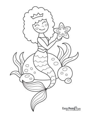 Mermaid with a Starfish
