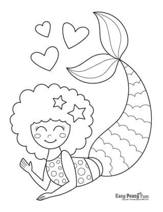 Waving Mermaid