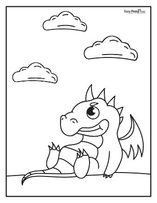 Sitting Dragon