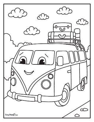 Happy Smiling Bus