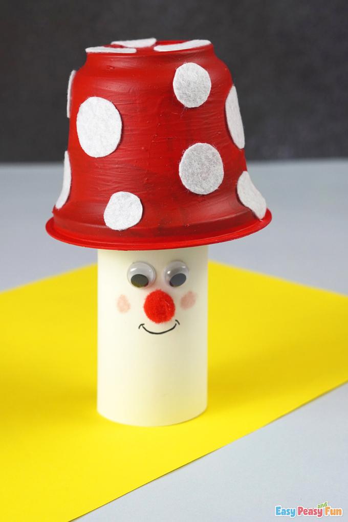 Mushroom Fall Paper Craft