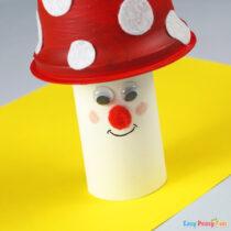 Mushroom Recycled Craft