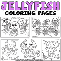 Jellyfish Coloring Pages