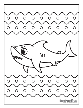 Undersea Coloring Pages