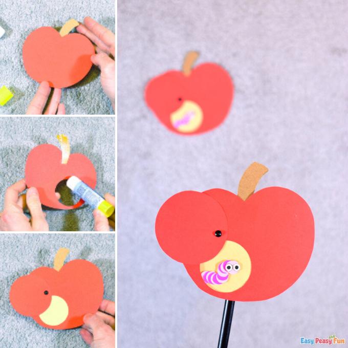 Ver dans l'idée d'artisanat en papier Apple