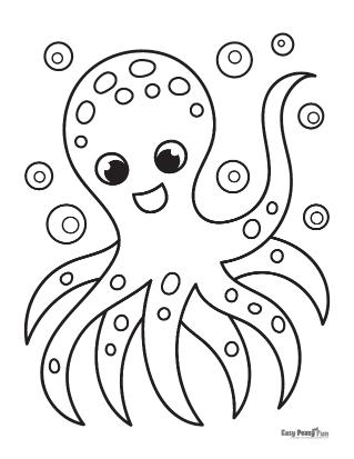 Octopus Waving