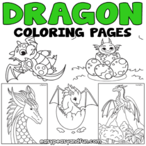 Dragon Coloring Pages – 30 Printable Sheets