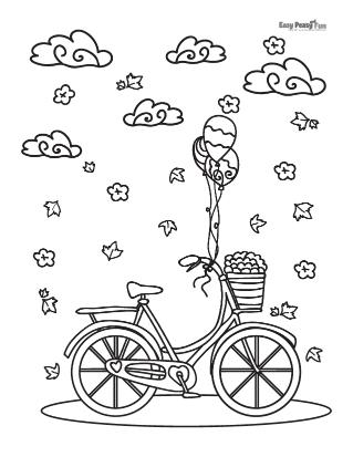 Vélo à l'automne