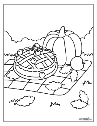 Pique-nique d'automne