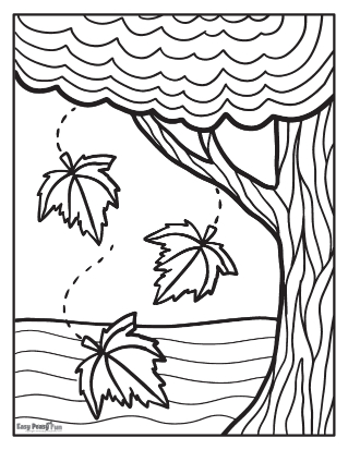 Coloriages d'automne