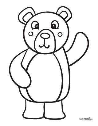 ours en agitant