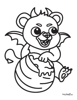 Ours au miel