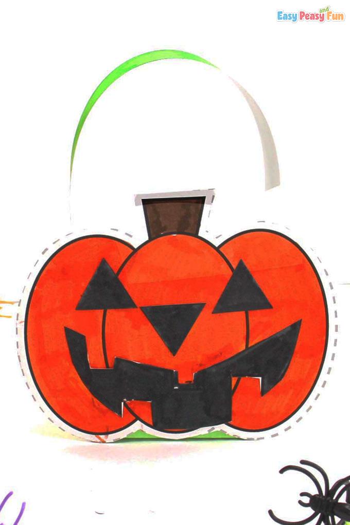 DIY Printable Halloween Treat Box