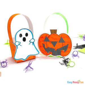 DIY Printable Halloween Treat Boxes
