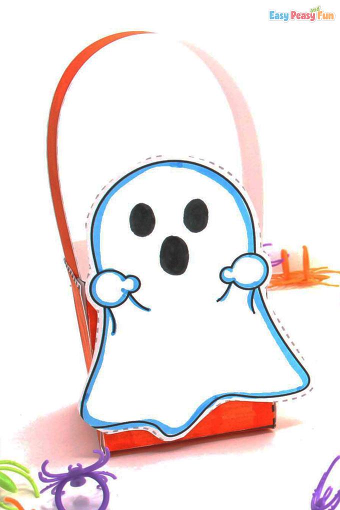 Halloween Ghost Treat Box