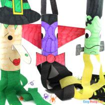 Printable Halloween Windsocks